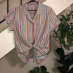 Vintage Button Up